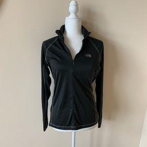 The North Face women's athletic half zip top #4106
